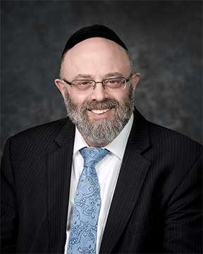 Rabbi Naphtali Burnstein, Senior Rabbi